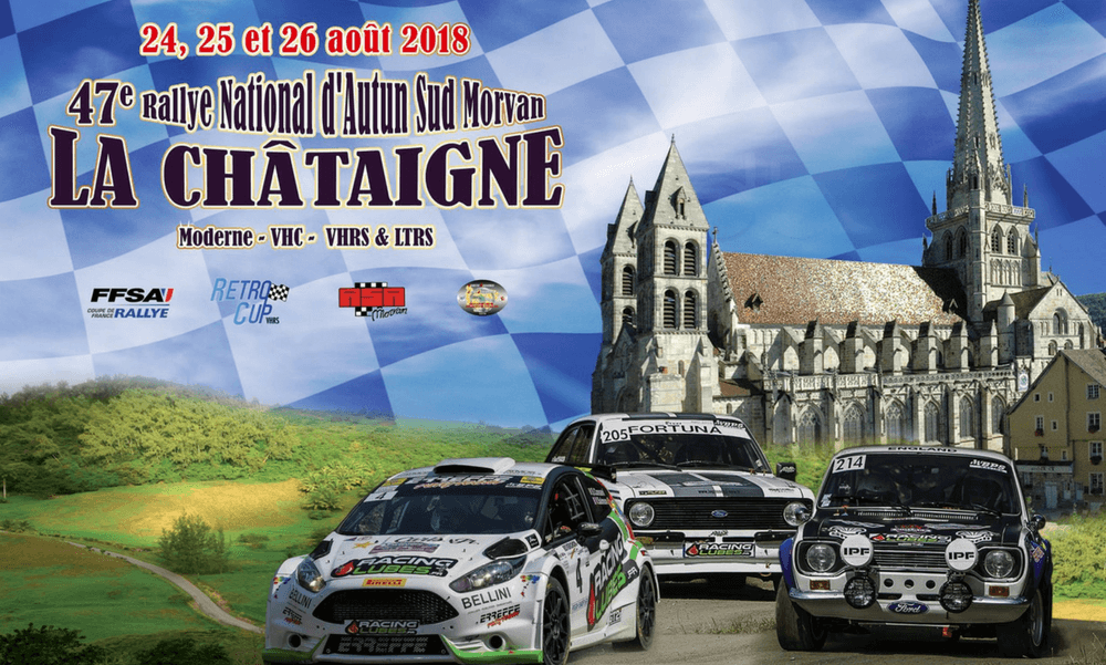 47e rallye d'Autun – La Châtaigne (25 – 26 août 2018)