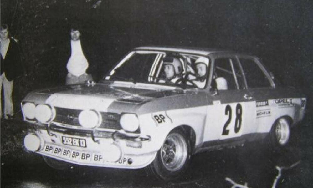 Jean Louis Clarr au Rallye de la Châtaigne 1973 avec Jean Pierre Peyroux (002)