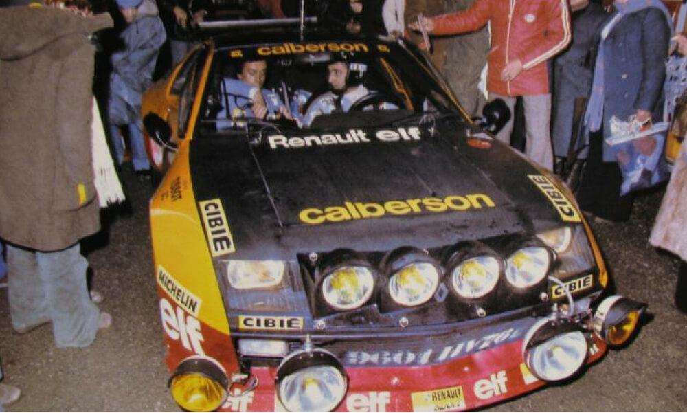 Victoire Alpine A310 Gr4 au rallye Autun La Châtaigne 1977 - équipage Guy FREQUELIN et Jacques DELAVAL (002)