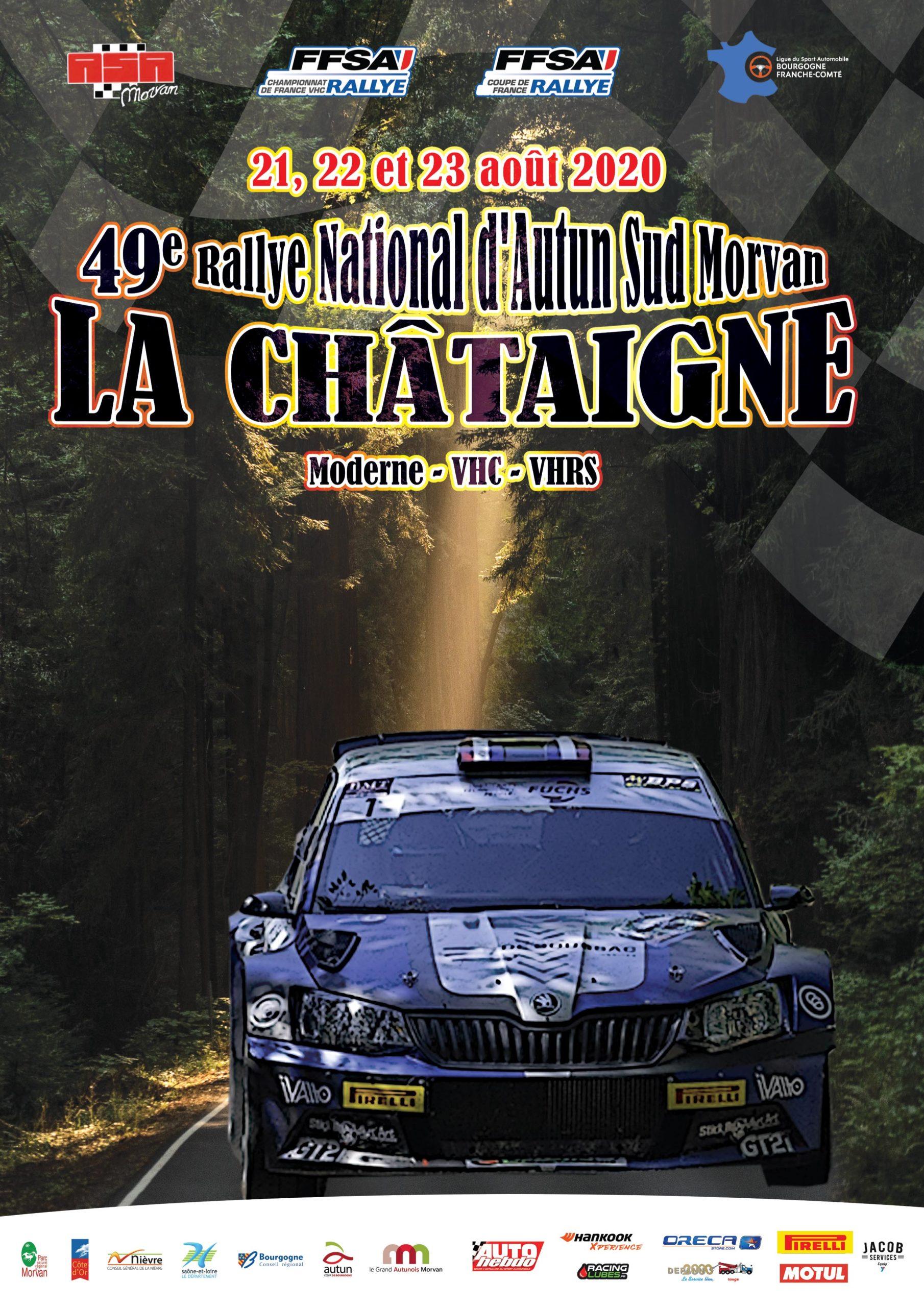 Feu vert pour le 49e rallye d'Autun-La Châtaigne